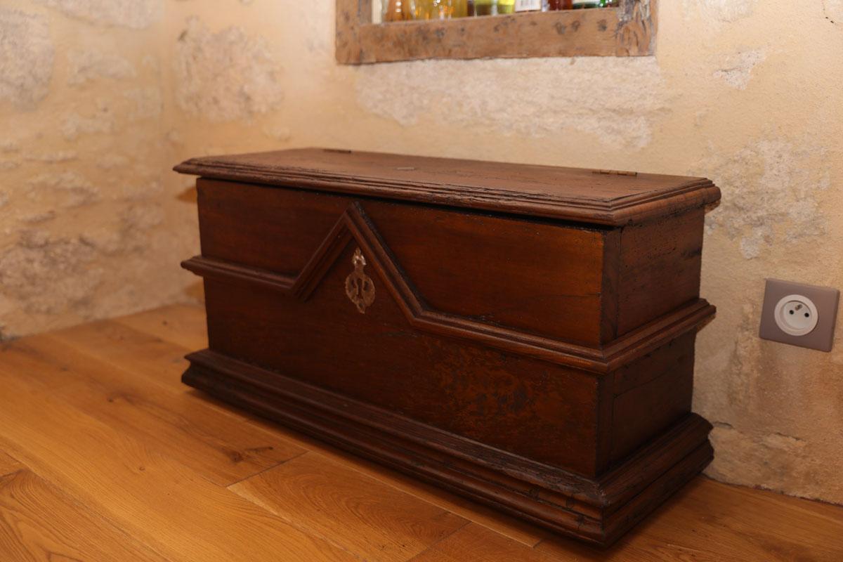 Coffre Périgourdin, copie d'ancien sur-mesure