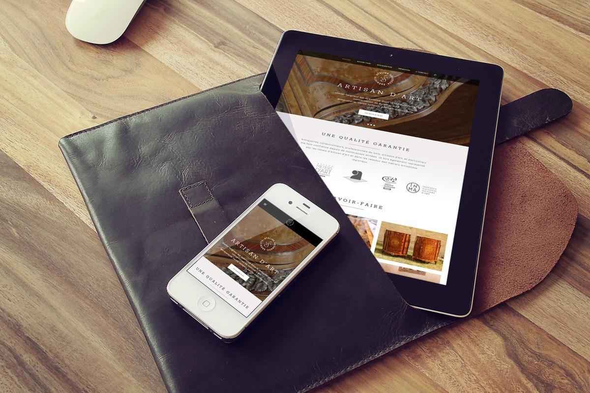 Nouveau site internet fin 2020 - Atelier seigneur
